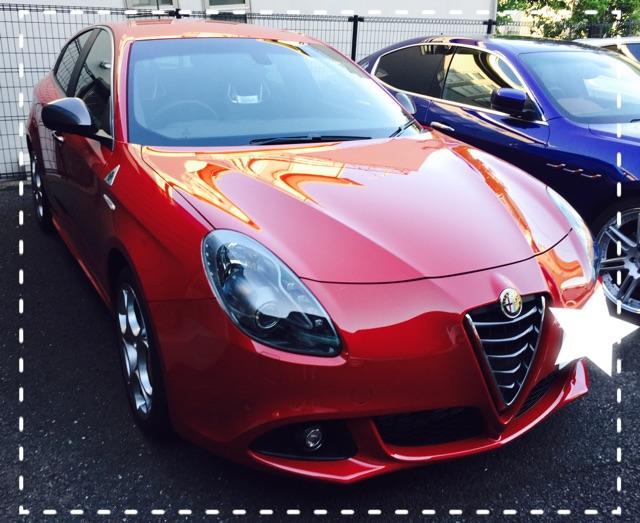 試乗車 Giulietta QV RHD