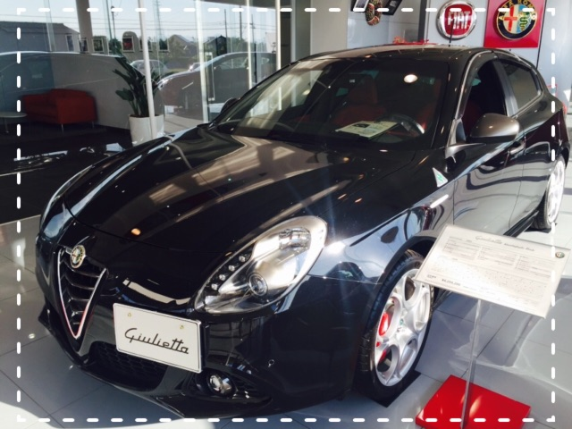 展示車 Giulietta QV 新古車