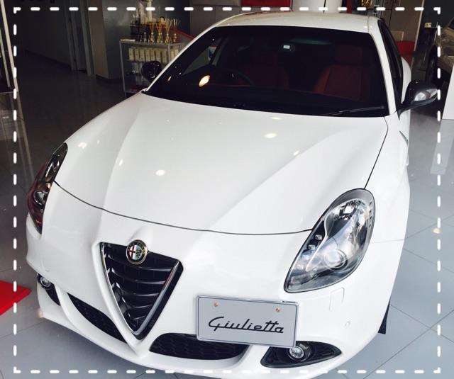 展示車 Giulietta QV W