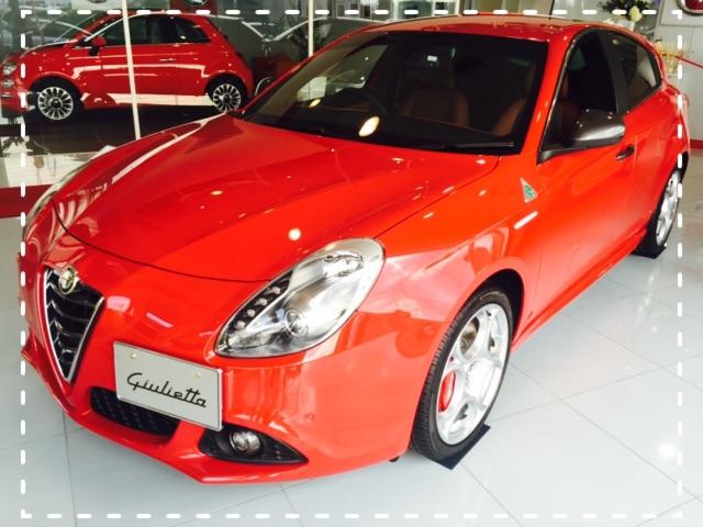展示車 Giulietta QV R