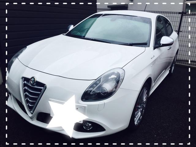 試乗車 Giulietta Sportiva