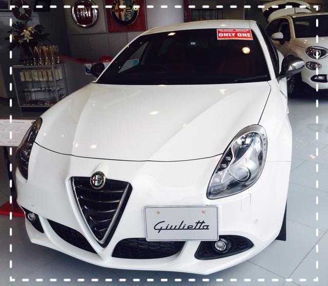 展示車 Giulietta QV  White