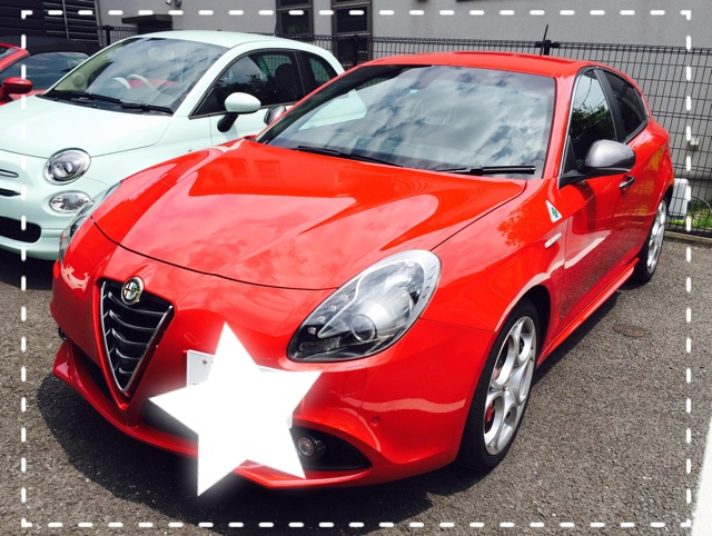 試乗車 Giulietta QV