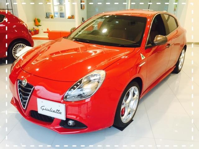 展示車 Giulietta QV