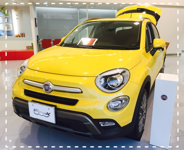 展示車 500X Yellow