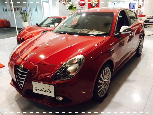 展示車 Giulietta Sportiva