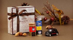 FIATチョコレートミニカーセット Classico
