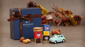 FIATチョコレートミニカーセット Acqua